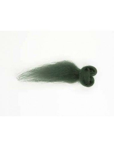 Lana filata colore verde loden 545