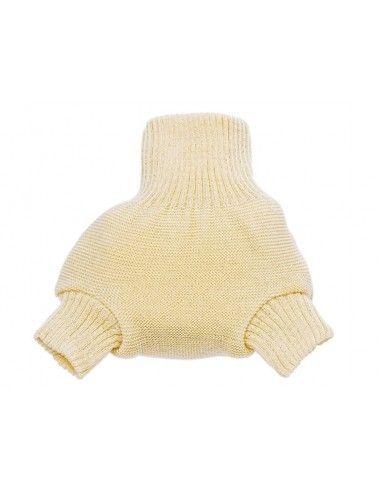Mutandina copripannolino in lana doppia