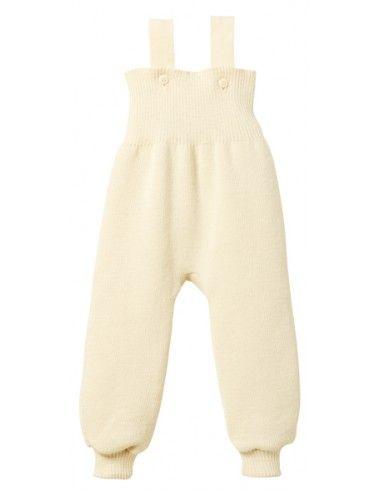 Pantalone bebè in lana Merino con...