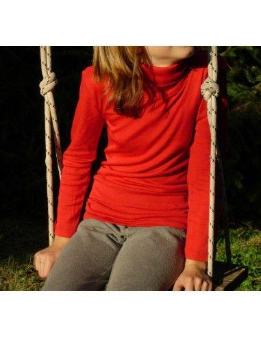 Dolcevita in lana seta -col. rosso