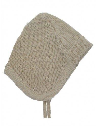 Cappellino baby in lana Merino -col....