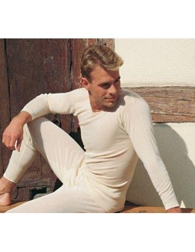 Maglietta uomo a manica lunga in lana...