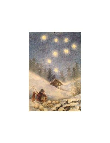 Calendario d'Avvento Natale con il...