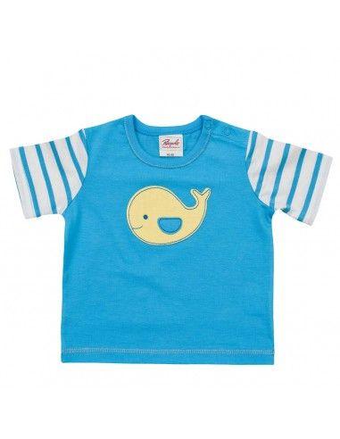 "T-Shirt ""Balena"" in cotone biologico"