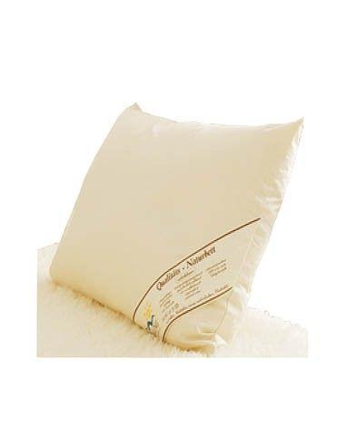 Cuscino in lana per lettino con cerniera