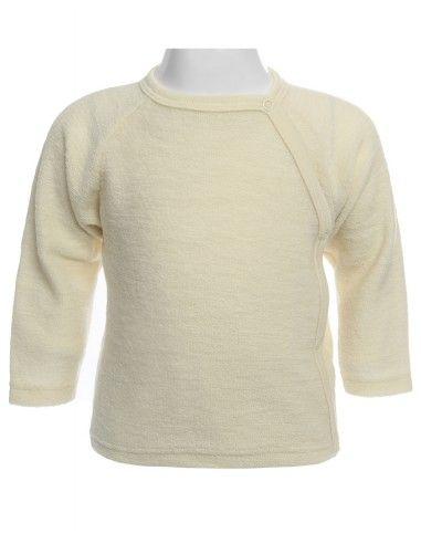 Baby Pullover in spugna di lana Merino