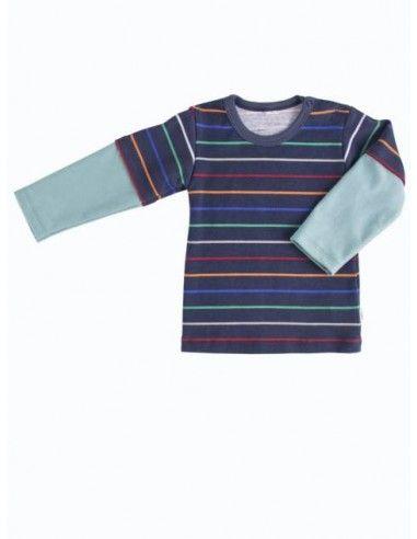 Maglietta lunga a doppia manica