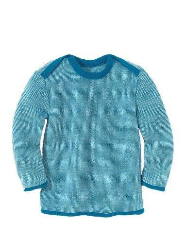 Maglione melange in lana Merino- col....