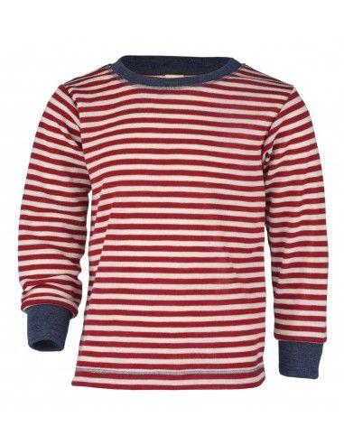 Maglietta a manica lunga in lana...