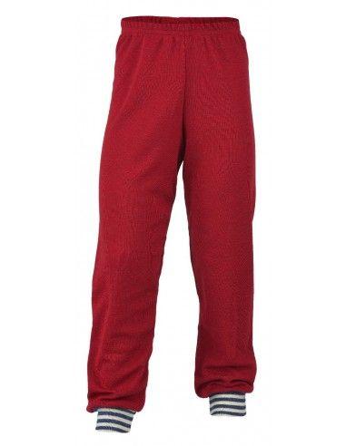 Pantalone lungo in lana Merino -col....