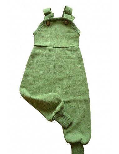 Salopette baby in spugna di lana/seta...