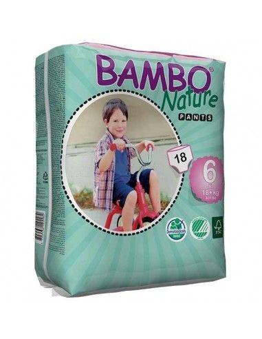 Pannolini Bambo Nature a mutandina XL...