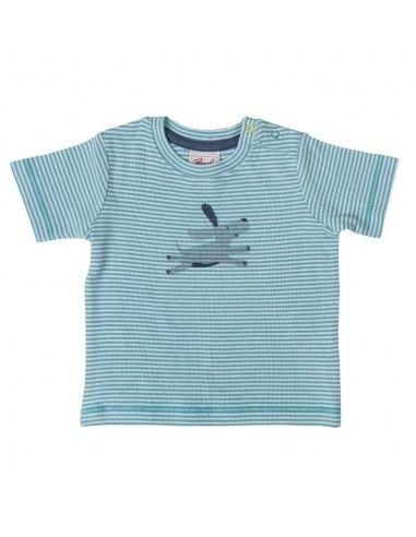 T-Shirt baby in cotone bio -col....