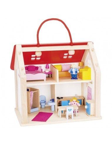 Casa delle bambole arredata