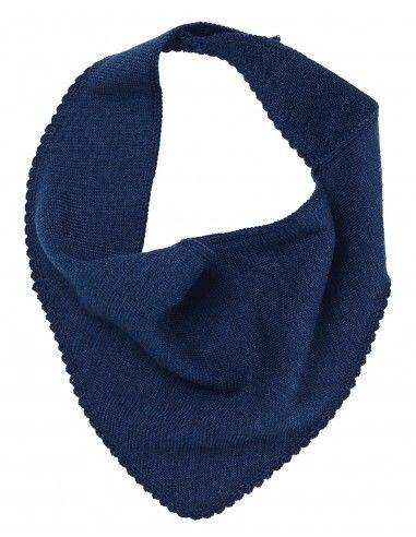 Triangolo sciarpa in spugna di lana...