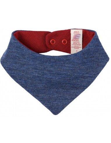 Triangolo sciarpa in lana Merino -...