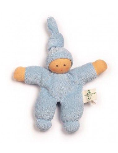 Bambola Nodino  -col. azzurro