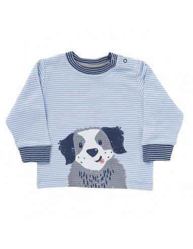 """Maglietta baby in cotone bio """"Dog"""""""