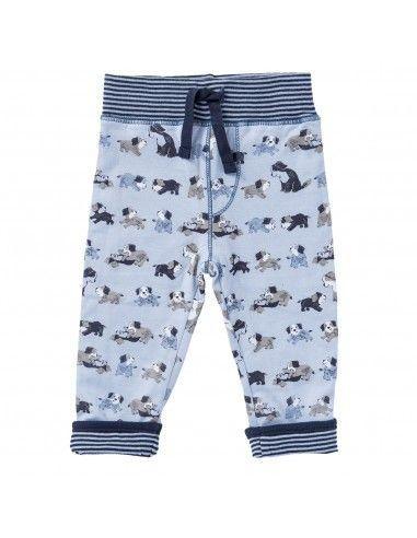 """Pantalone morbido in cotone bio """"Dog""""..."""
