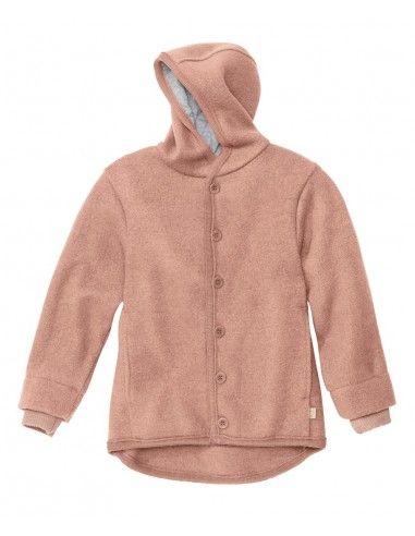 Giacca in lana cotta col. rosa