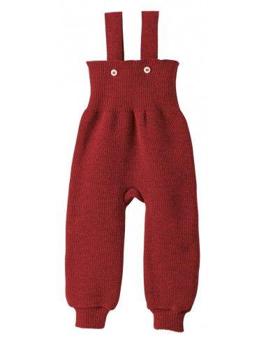 Pantalone in lana Merino con...