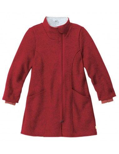 Cappotto bambina in lana cotta - col....