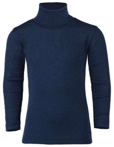 Dolcevita in lana seta - col. blu marine