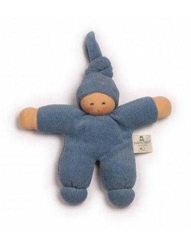 Bambola Nodino  -col. blu chiaro