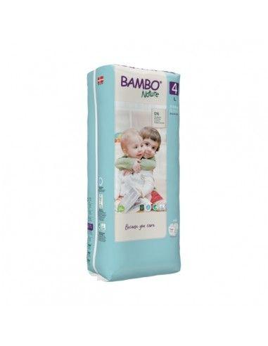 Pannolini Bambo Nature Taglia 4 (7-14...
