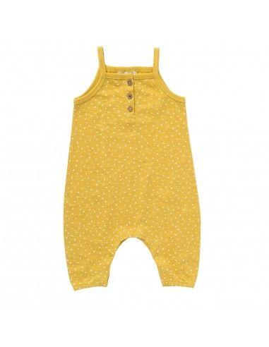 Salopette baby in cotone bio -col....