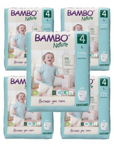 Pannolini Bambo Nature a mutandina...