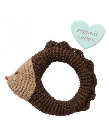 """Sonaglino crochet in cotone bio """"Riccio"""""""