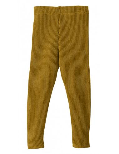 Leggings in lana Merino col. gold