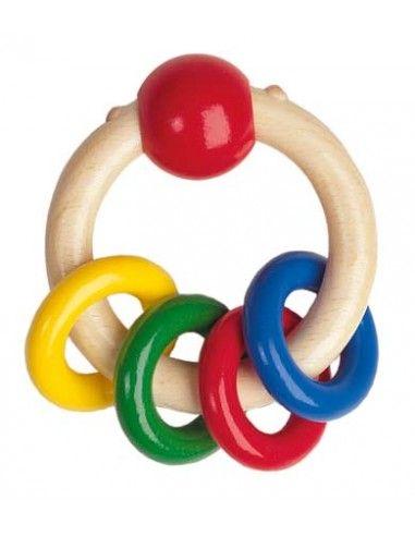 Sonaglino con anelli colorati