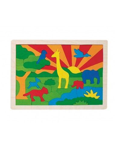 Puzzle giungla